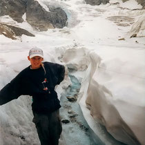 Seppo auf dem Glacier