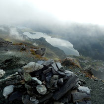 Tiefblick vom Gipfel - 2780 M