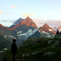 Urner Alpen 8 - Blick Sustlihütte