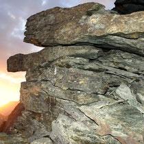 Abstieg - Cheilon-Westgrat