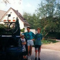 Abfahrt in Titisee - Mit Seppo und Emanuel