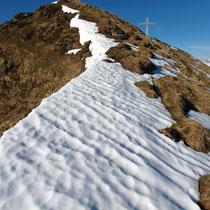 Aufstieg - NO-Gipfelgrat
