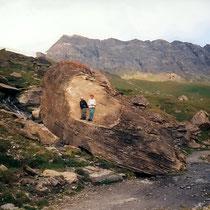 Riesen-Felsbrocken