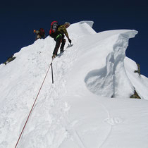 Kleinglockner-Gipfelgrat