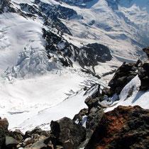 Gipfelblick - Ghiacciaio delle Piode