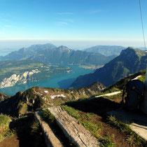Gipfelblick - Vierwalsstättersee