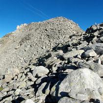 Erster Gipfelblick