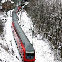 Motiv 9 - Im Höllental, Höhe Finsterrank-Tunnel