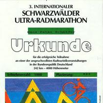 Urkunde 1992