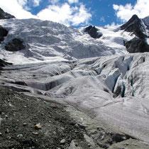 Gletscher-Abbruchzone