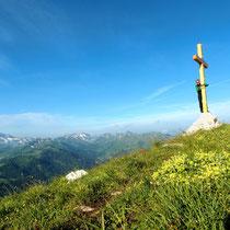 Pointe de Bellevue - Gipfel