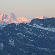 Berner Alpen 2 - Lauterarhorn, Schreckhorn, Mönch, Wetterhorn