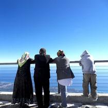 Gipfelblick - Türkische Familie
