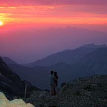 Motiv 14 - Abendhimmel am Brandner-Gletscher