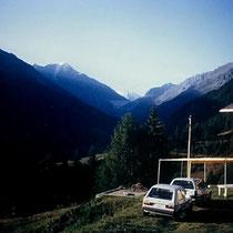 Mont Blanc de Cheilon über der Grande Dixence