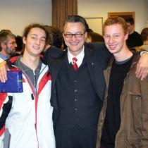 Meine Söhne Christoph und Emanuel