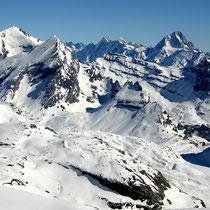 Berner Alpen 5 - Altels, Balmhorn, Rinderhorn, Bietschhorn