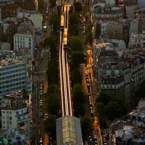 Motiv 1 - Metro im Abendlicht, Paris