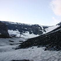Schwarzgletscher vor Zackengrat