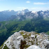 Gipfelblick - Glarner Alpen