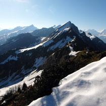 Gipfelblick - Chaiserstockkette