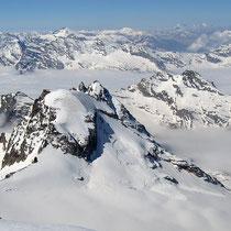 Cottische Alpen 2 - vorne Ciarforon 3642 M