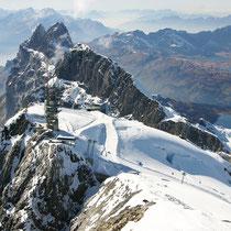 Gipfelblick auf Klein Titlis