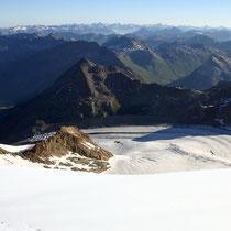 Bündner Alpen 3 - Blick vom Piz Palü