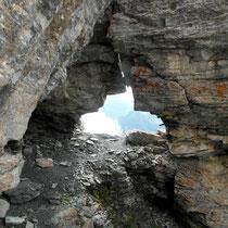 Felsöhr im Anstieg