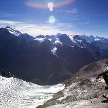 Gipfelblick nach Westen