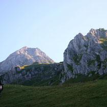 Brunnistock vor Rigidalstock