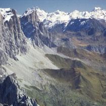 Ötztaler Alpen 2 - Blick vom Schesaplanagipfel