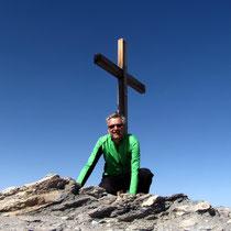 Persönliches Gipfelbild - 3254 M