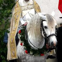 Bild 25 - Diakon Rich auf dem Ehrenschimmel