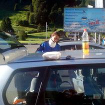 Ankunft in Engelberg