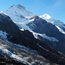 Motiv 2 - Jungfrau 4158 M - Silberhorn 3695 M