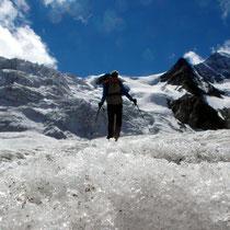 Gletscher-Traversierung