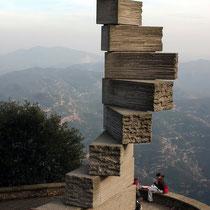 Motiv 10 - Steinmal, Ramon Lull, Montserrat