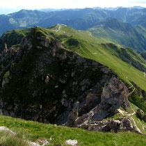 Gipfelblick nach Savoleyres