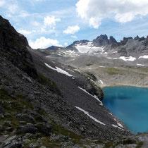 Wildsee vor Pizol