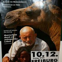 Motiv 13 - Rüdiger Nehberg - Zu Gast in Freiburg - 2003