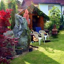 Motiv 8 - Gartenhaus-Ecke