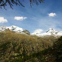 Panoramablick auf Gran Paradiso