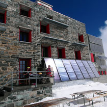 Britanniahütte - 3030 M