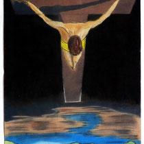 Schwebendes Kreuz