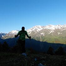 Aufstieg - Montagne de Vendes