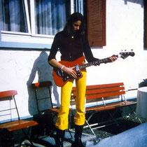 Mit Klira-Bass - Titisee 1972