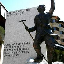 Motiv 3 - Gedenktafel Zermatt - 150 Jahre Alpine-Club