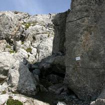 Aufstieg - Ca. 2450 M