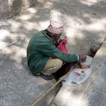 Motiv 9 - Am Swayambunath-Tempel in Kathmandu
